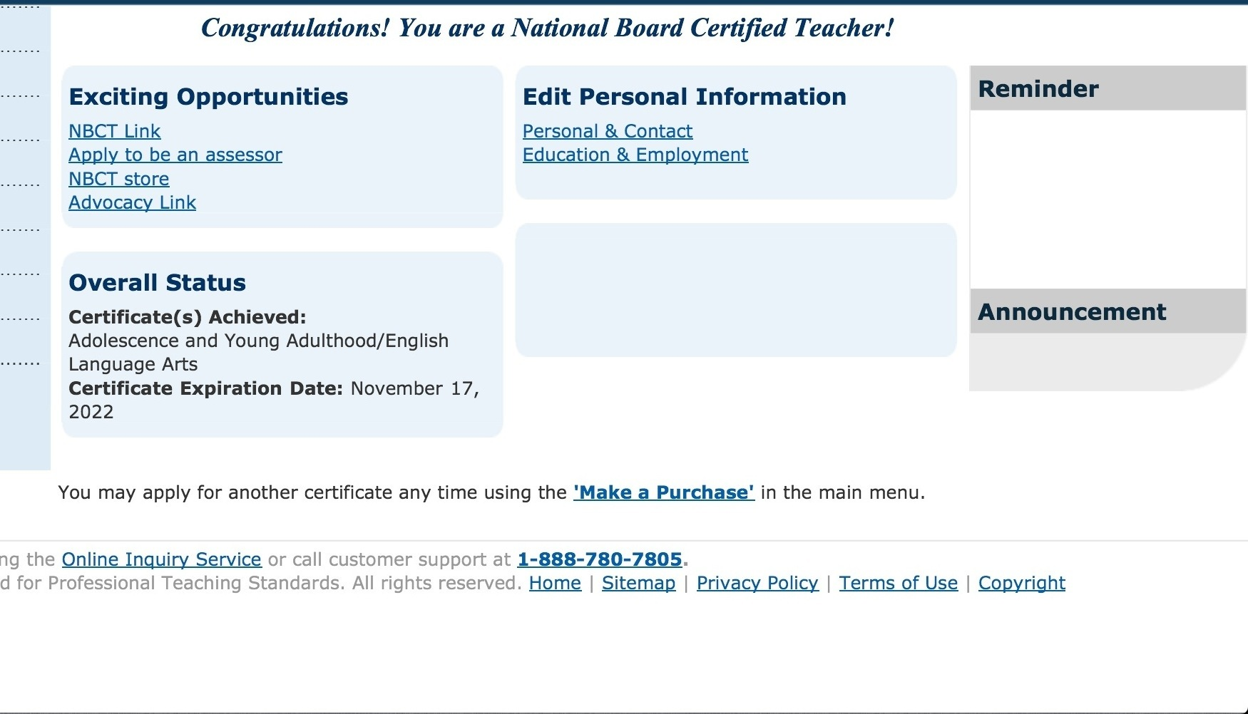 National Board Certified Teacher The Reading Zone